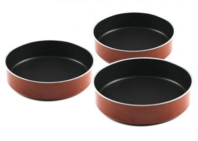 Taç Mutfak - Taç Granit 3lü Tepsi Set