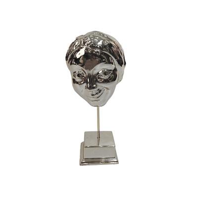 Diğer - Tebessüm Kaplama Dekoratif Biblo Gümüş