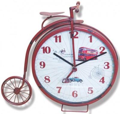 Time Gold - Time Gold Garanbi Bisiklet Şeklinde Otobüs Baskılı Masa Saati