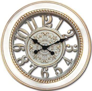 Time Gold - Time Gold Kale Yuvarlak Cam Duvar Saati
