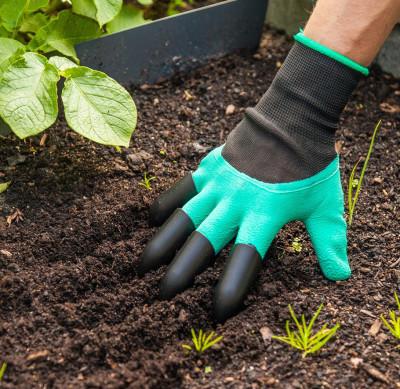 Tırmık Özellikli Mucize Bahçe Eldiveni - Thumbnail