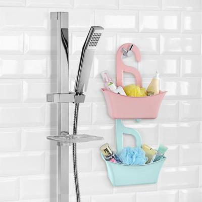 Titiz - Titiz Çok Amaçlı Banyo Düzenleyici Askılı Sepet Asorti