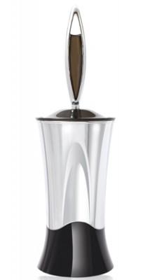 Titiz - Titiz Kristal Klozet Fırça Seti Krom