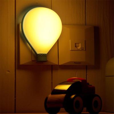 Diğer - Uçan Balon Şeklinde Dekoratif Gece Lambası Asorti