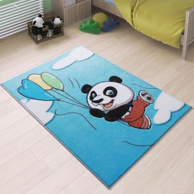 Confetti - Uçan Panda Çocuk ve Bebek Odası Halısı 100x150cm