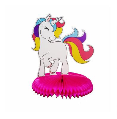 Diğer - Unicorn Figürlü Parti Masası Orta Süsü