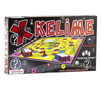 Diğer - X Kelime Kutu Oyun Seti