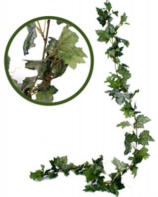 Diğer - Yapay Asma Akçaağaç Yaprağı Sarmaşık Yeşil 180cm