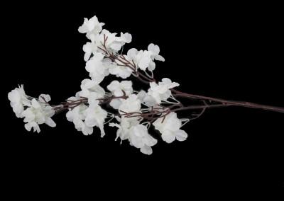 Diğer - Yapay Çiçek Akasya Demeti Beyaz 68cm