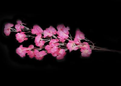 Diğer - Yapay Çiçek Akasya Demeti Fuşya 68cm