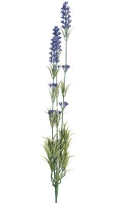 Diğer - Yapay Çiçek Dekoratif Uzun Dal Lavanta