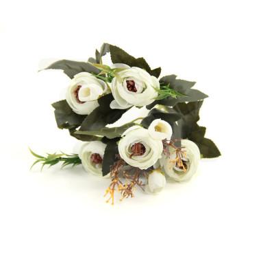 Diğer - Yapay Çiçek Şakayık Demeti 27cm Beyaz