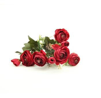 Yapay Çiçek Şakayık Demeti 27cm Kırmızı