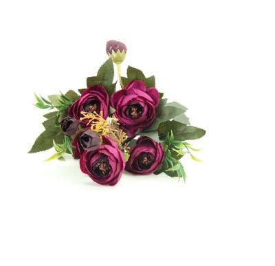 Yapay Çiçek Şakayık Demeti 27cm Mor - Thumbnail