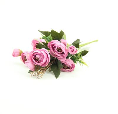 Yapay Çiçek Şakayık Demeti 27cm Pembe - Thumbnail