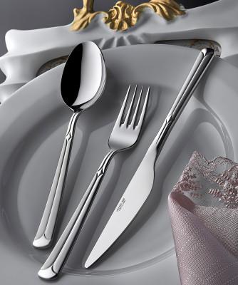 Diğer - Yıldız Saten 12li Yemek Bıçağı